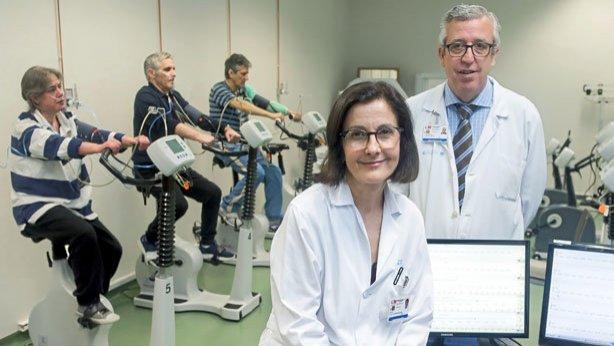 El consumo de oxígeno ajusta la rehabilitación del cardiópata