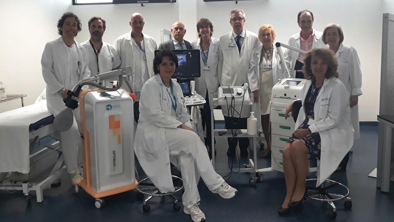 El Instituto i+12 colabora con Sanro Electromedicina para investigar nuevas vías de rehabilitación con tecnología puntera