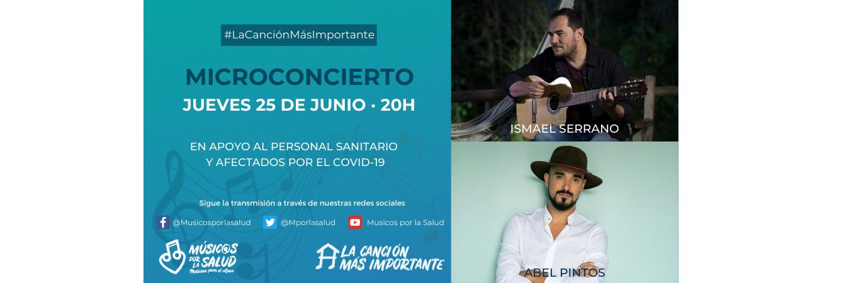 25/06/2020 – 20:00h – MICROCONCIERTO – #LaCanciónMásImportante